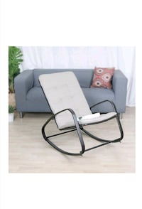 lounge chair and rocking chair