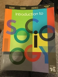 Intro to Sociology Textbook Leesburg, 20175