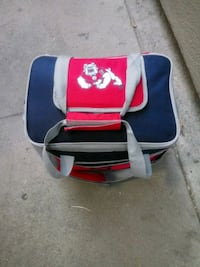 white, blue, and red leather backpack Fresno, 93726