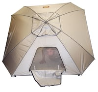 beige dome tent