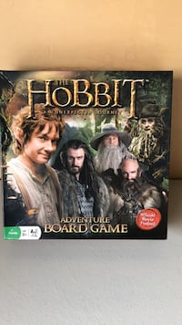 """Hobbit Adventure Board Game  """"An Unexpected Journey"""" Calgary, T3H"""