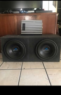 Power Acoustick speaker with amp Los Angeles, 90011
