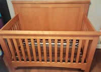 convertible crib and  dual sided crib mattress  Annandale