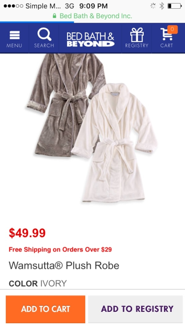 purchase genuine shoes for cheap wholesale online two wamsutta plush robe $49.99
