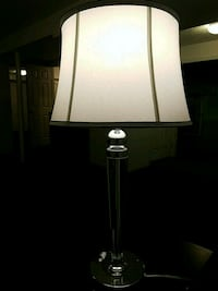 Silver table lamp Waltham, 02453