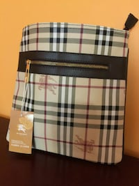 Awesome Brown Checked Messenger Bag Mississauga, L5R 2L3