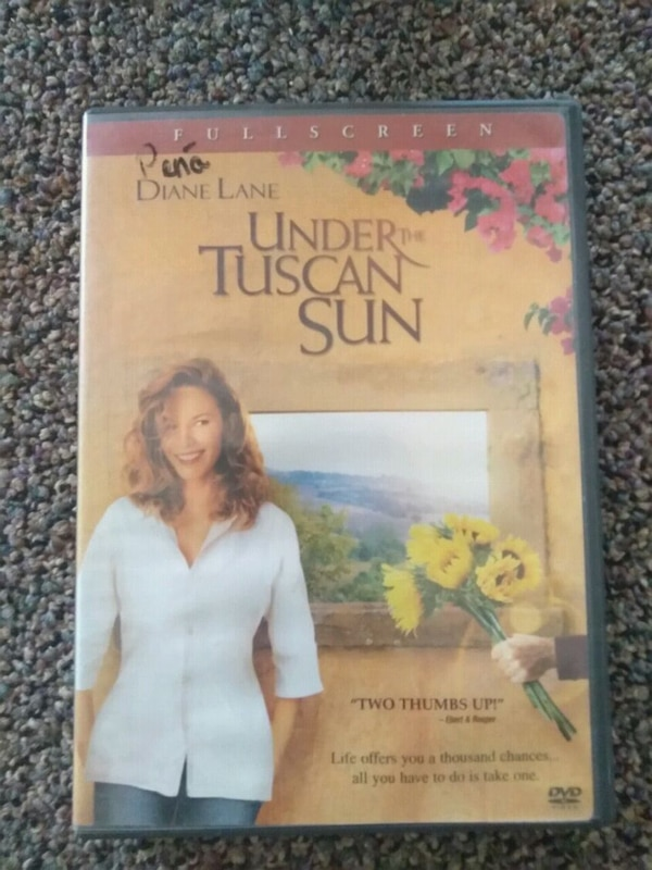 Used Under The Tuscan Sun Full Screen Dvd Case For Sale In El Paso
