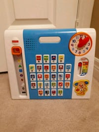 Fisher Price - Phonics, Colours, Shapes and Time Toy Brampton, L6Y 0K1