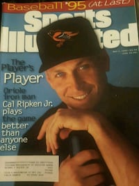 Cal Ripken Sports Illustrated from 1995 Baltimore, 21201
