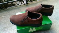 pair of brown leather slip-on shoes Raleigh, 27609