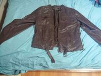 suzy small leather jacket  Brantford, N3R 5T1
