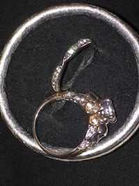 Silver plated set of rings size 7 Calgary, T3E 6L9