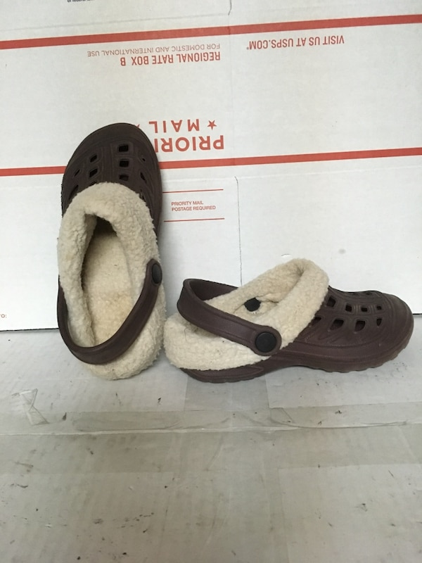 b18d732dc Used Fake CROCS Boy or Girl Fleece Lined for sale in Elmwood Park ...