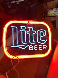 red and white Bud Light neon signage Hanover, 02339
