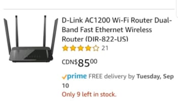 D- Link 822 Dual band 5G Router