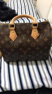 brown Louis Vuitton leather tote bag Toronto, M1P
