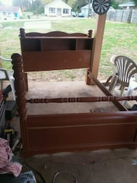 Full size bed real wood $50 obo Morristown, 37814