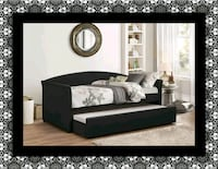 Black Daybed with mattress free delivery Falls Church, 22041