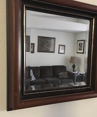 Wooden Nice Wall Mirror Size 16x16 Kissimmee, 34741