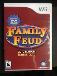 Family Feud video game for the Nintendo Wii