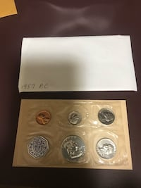 1957 US Mint proof coin set