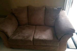 Loveseat & couch