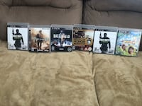Four assorted ps3 games with cases each Wilmington, 19804