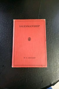 VERY old Salesmanship text book.