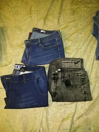 Skinny jeans for women. Size 15 $4.00 each Brownsville