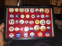 assorted color coin collection in box Ashville, 43103