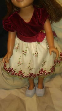 American girl doll with clothes asking $190 Brookfield