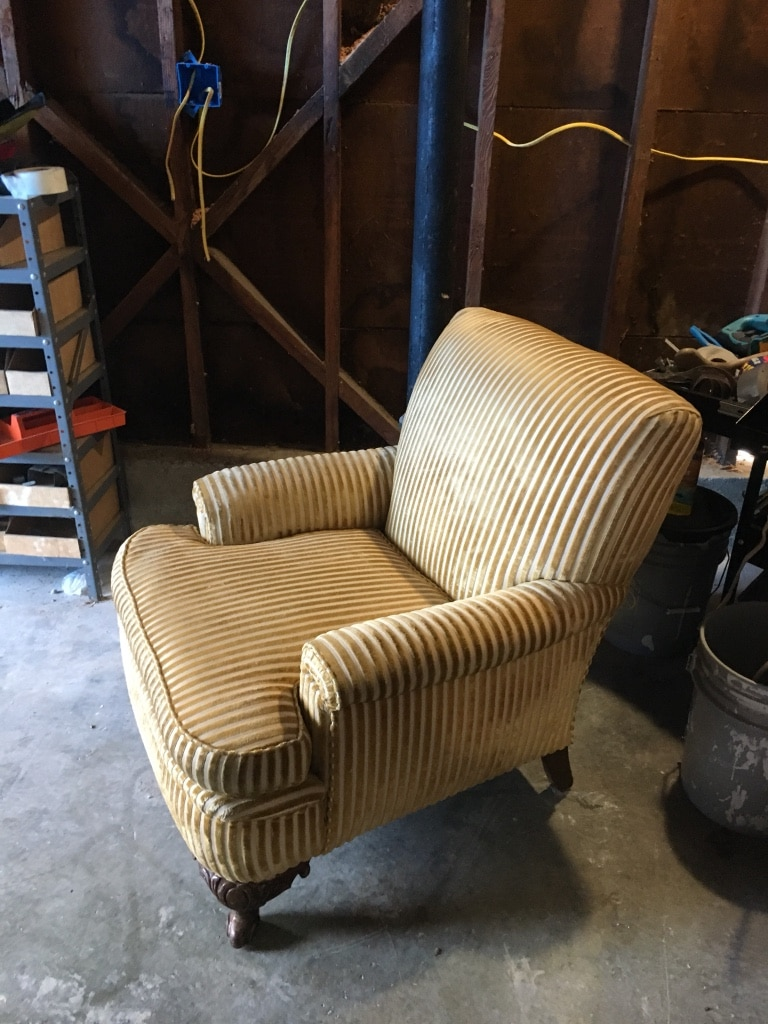 Antique King George III Chair