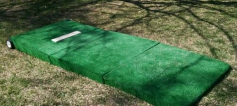 "6"" Portable pitching mound"