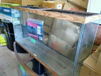 60 gallon oak trim fish tank Fairfax Station
