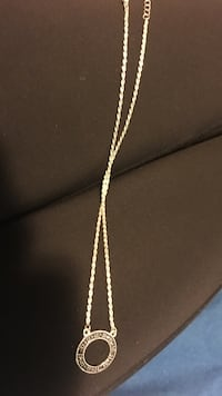 silver chain necklace with pendant Vancouver, V5N 2X1