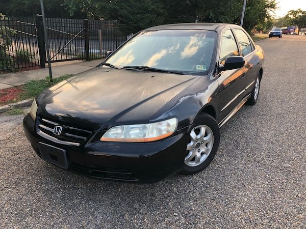 2002 Honda Accord EX-L 140k Miles Leather Sunroof Alloy Wheels