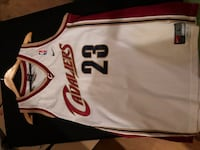 white and red Chicago Bulls 23 jersey Saugus, 01906