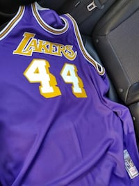 71/72 Jerry west Lakers jersey...3x Mitchel and Ne