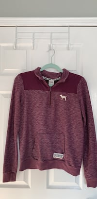 Maroon/Purple Collared Crewneck Shirt Oakville