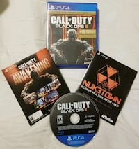 COD BLACK OPS 3 GOLD ED. PS4 WITH UNUSED DLC'S !! Cambridge