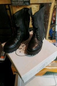 Brand new size 6.5 Steve madden leather boots  Surrey