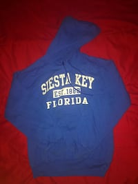 Siesta Key blue hooded sweatshirt Fairfax, 22033