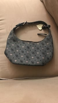 grey Dooney & Bourke monogram hobo bag Washington, 20019