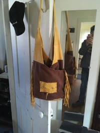 Homemade. Hand stitched leather bag St Catharines, L2R