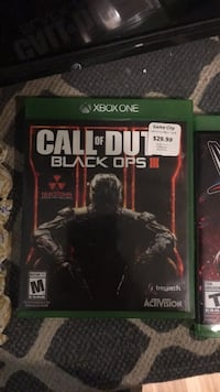 Xbox One Call of Duty Black Ops 3 game case Edmonton, T6L