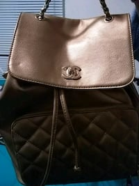 Chanel back pack purse Flint, 48507