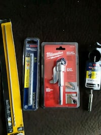 four assorted color hand tools  Clinton, 20735