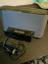 Sony ipod docking station/alarm clock Edmonton, T5R 1N7