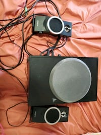 creative speaker PC or Laptop or any Aux input, Su Manchester