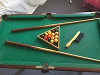 green and brown billiard table West Springfield, 01089